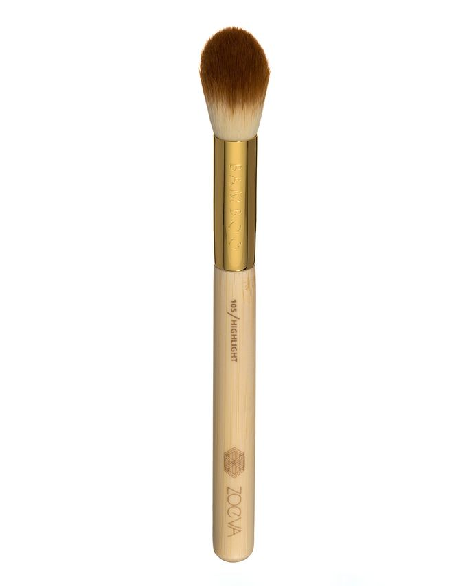 ZOEVA LUXE HIGHLIGHT BRUSH PĘDZEL DO ROZŚWIETLACZA 105
