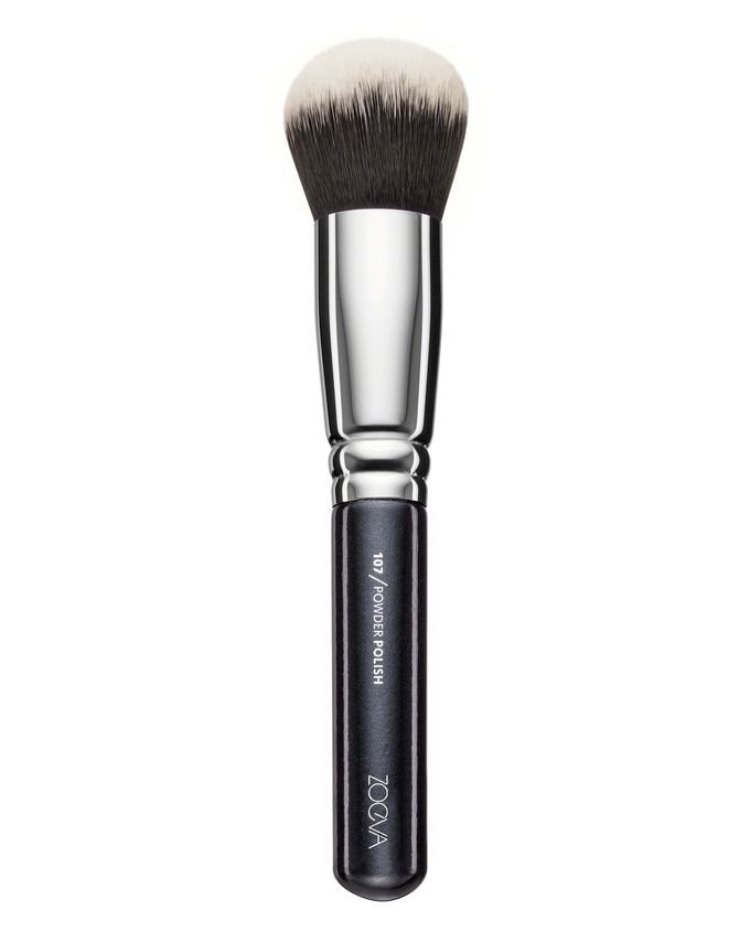 ZOEVA POWDER POLISH BRUSH PĘDZEL DO PUDRU 107