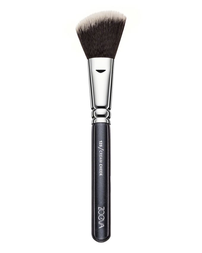 ZOEVA CREAM CHEEK BRUSH PĘDZEL DO RÓŻU 128