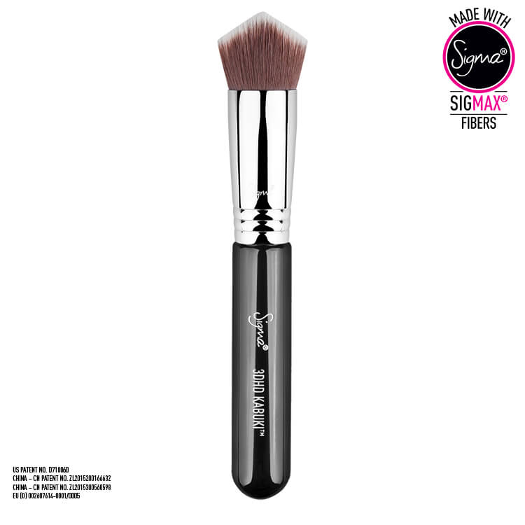 SIGMA BEAUTY 3DHD KABUKI BRUSH PĘDZEL DO PODKŁADU