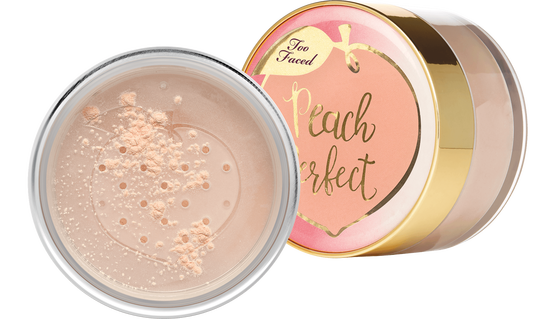 TOO FACED PEACH PERFECT MATTIFYING SETTING POWDER PUDER SYPKI
