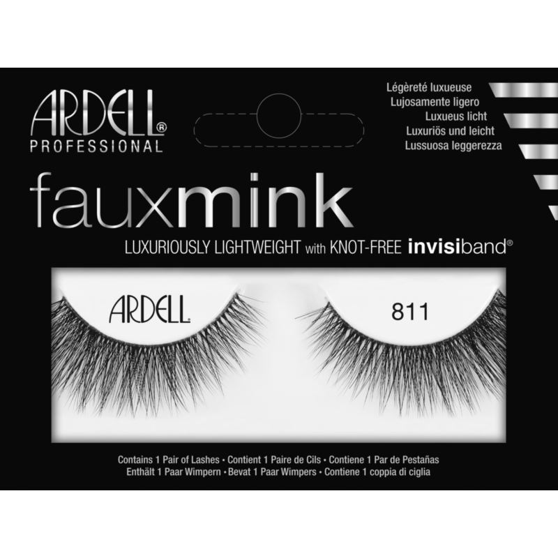 ARDELL LASHES FAUX MINK RZĘSY NA PASKU 811