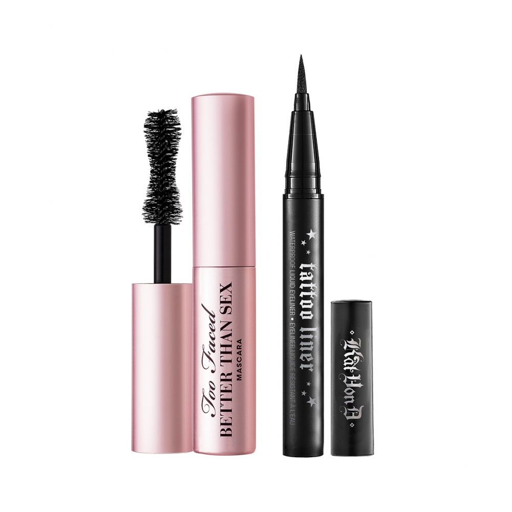 KAT VON D TOO FACED BETTER TOGETHER BESTSELLING MASCARA & LINER DUO EDYCJA LIMITOWANA
