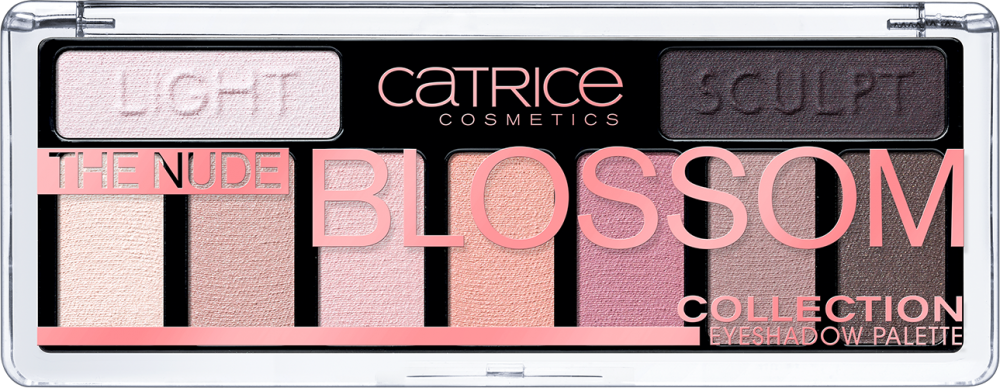 CATRICE EYESHADOW THE NUDE BLOSSOM COLLECTION PALETTE PALETA CIENI DO POWIEK