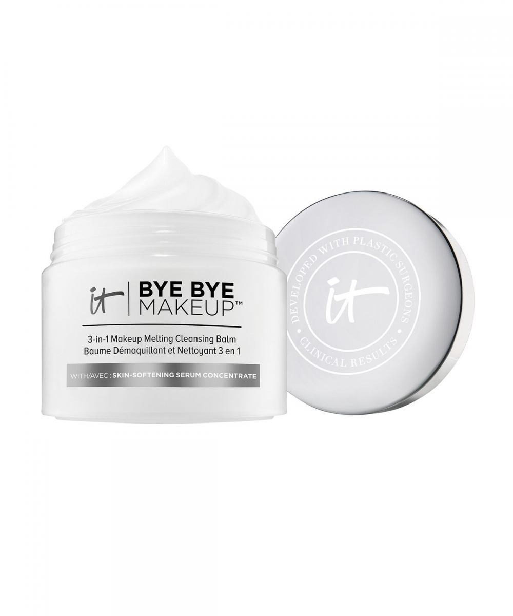 IT COSMETICS BYE BYE MAKEUP 3-IN-1 MAKEUP MELTING BALM BALSAM DO ZMYWANIA MAKIJAŻU 3-W-1