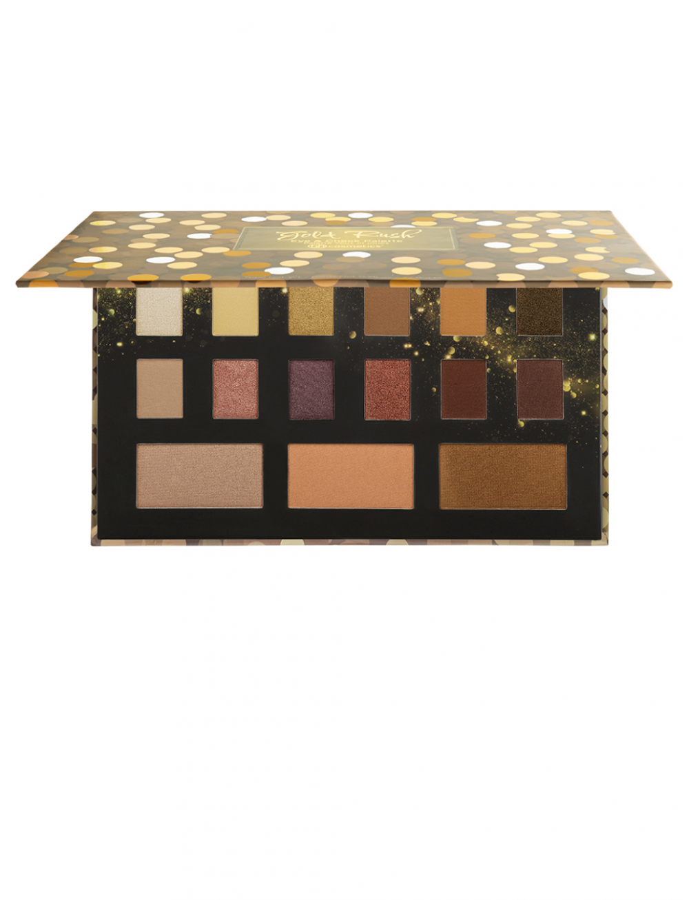 BH COSMETICS GOLD RUSH EYE & CHEEK PALETTE