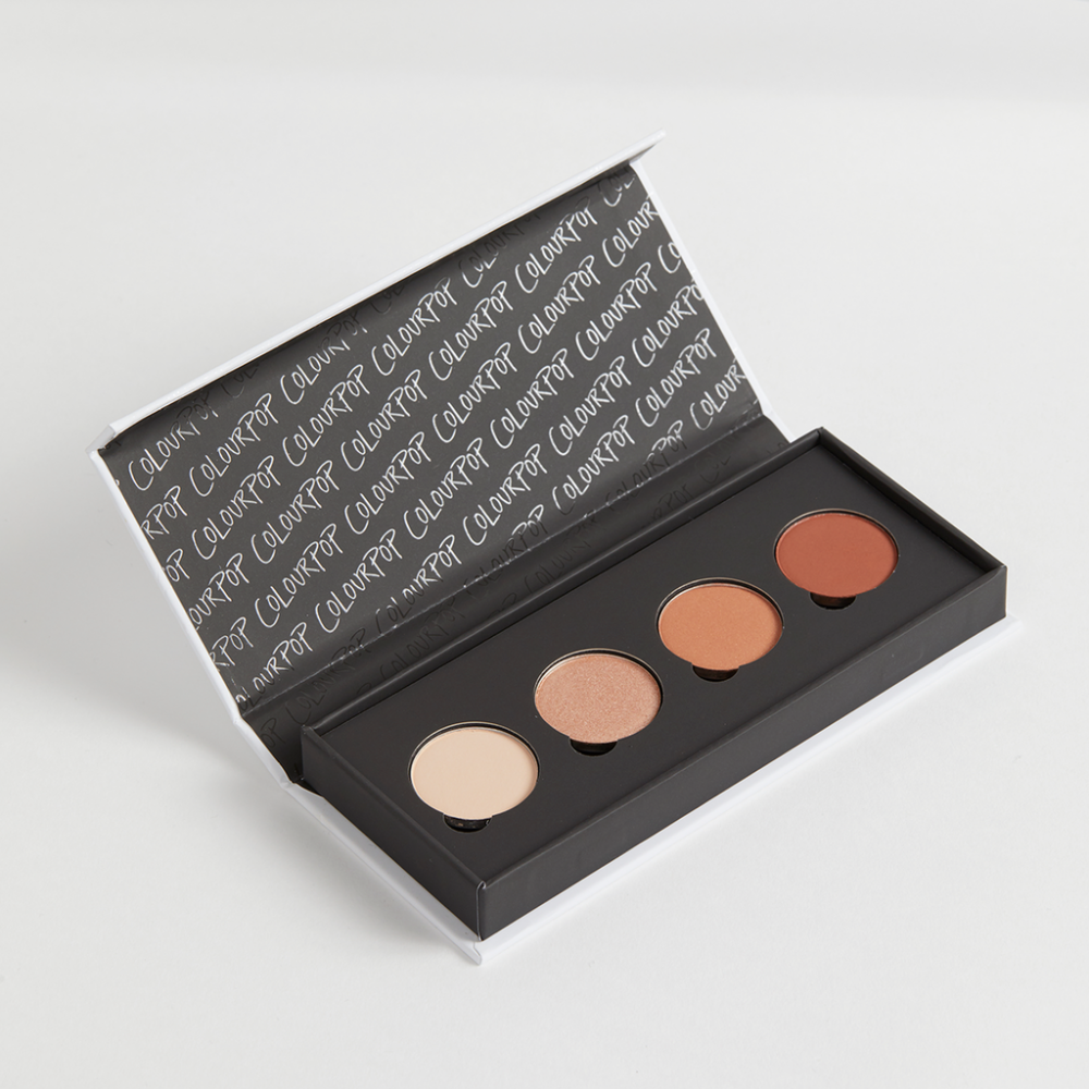 COLOURPOP HEAVY HITTER PRESSED POWDER PALETTE PALETA CIENI DO POWIEK