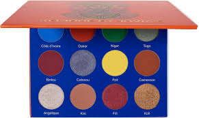 JUVIA'S PLACE AFRIQUE EYESHADOW PALETTE PALETA CIENI DO POWIEK