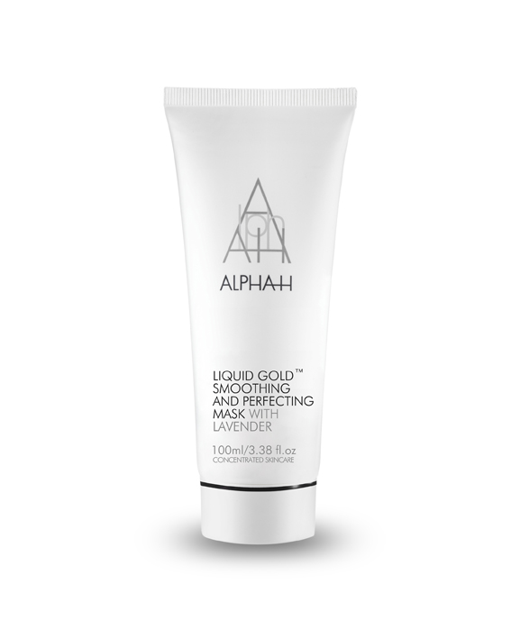 ALPHA-H LIQUID GOLD SMOOTHING AND PERFECTING MASK WITH LAVENDER MASKA ZŁUSZCZAJĄCO-ODBUDOWUJĄCA