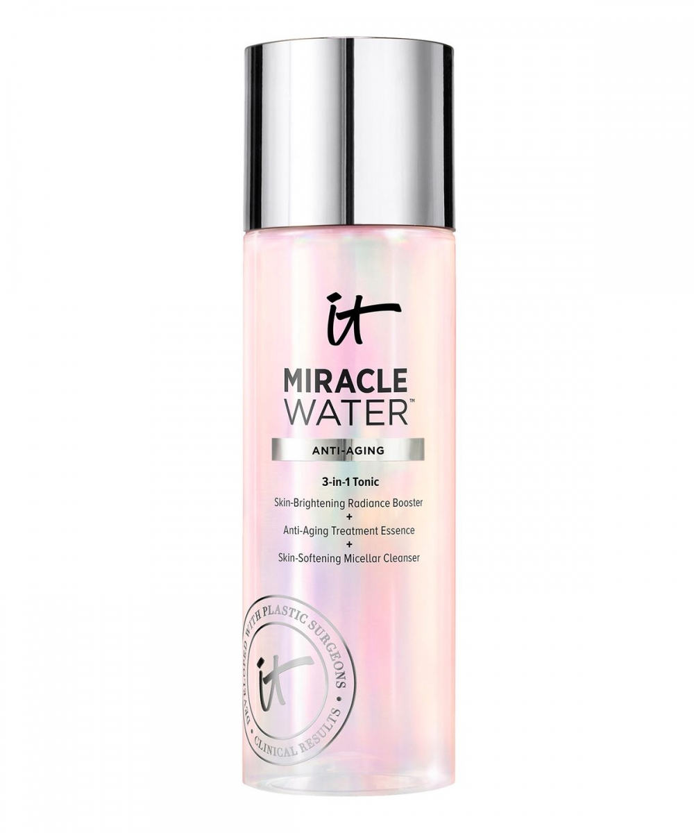IT COSMETICS MIRACLE WATER 3-IN-1 TONIC TONIK 3 W 1 MIRACLE WATER