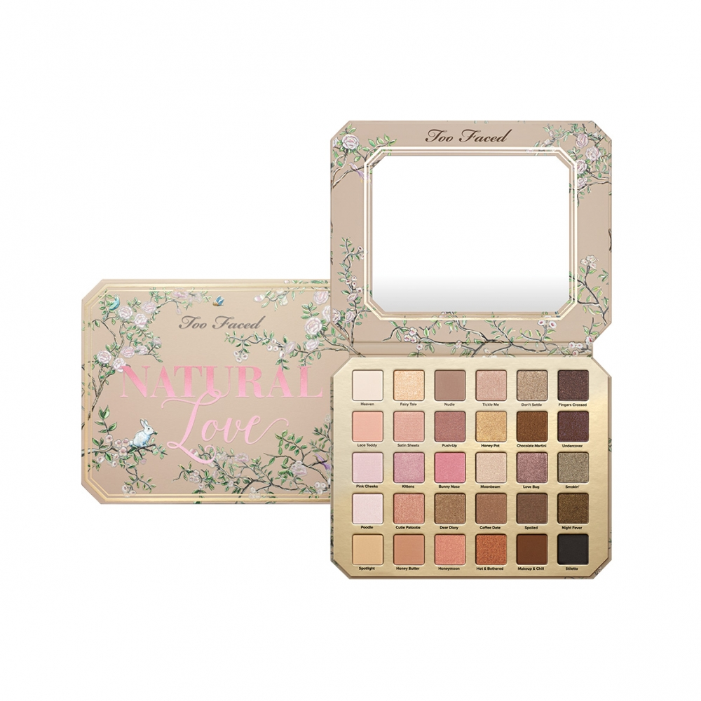 TOO FACED NATURAL LOVE EYE SHADOW COLLECTION PALETA CIENI DO POWIEK