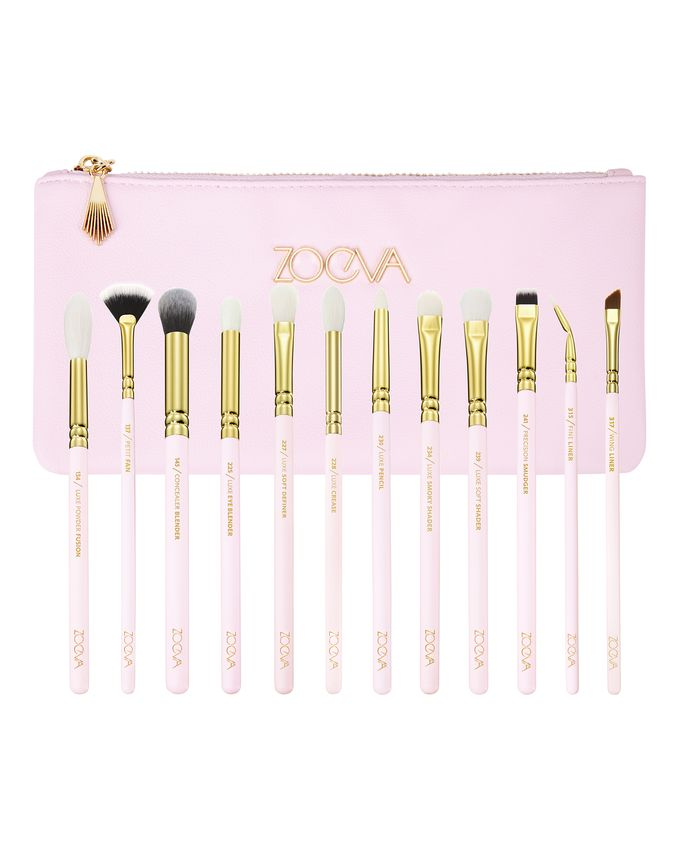 ZOEVA SCREEN QUEEN COMPLETE EYE SET ZESTAW 12 PĘDZLI DO POWIEK