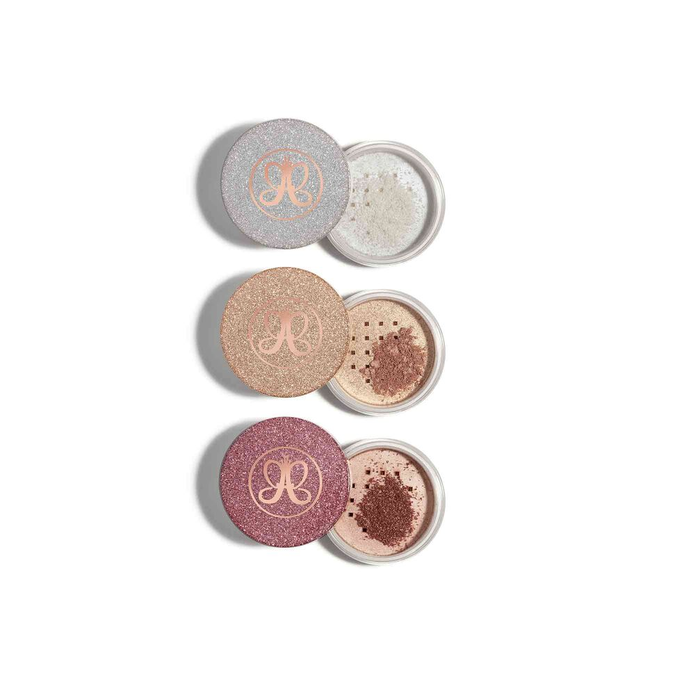 ANASTASIA BEVERLY HILLS MINI LOOSE HIGHLIGHTER SET ZESTAW MINI ROZŚWIETLACZY