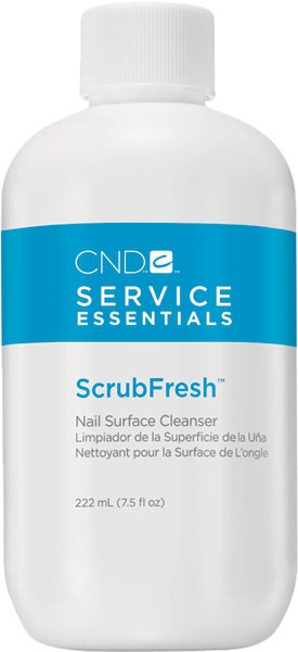 CND ESSENTIALS SCRUB FRESH NAIL SURFACE CLEANSER 222ml