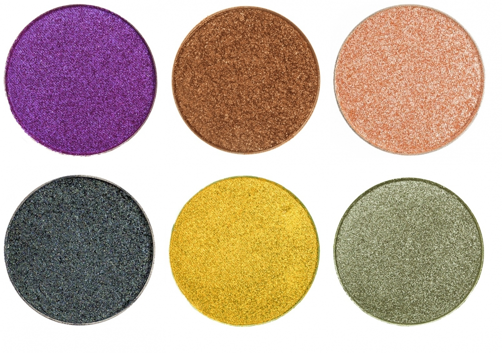 MAKEUP GEEK FOILED EYESHADOW SET 6 PANS