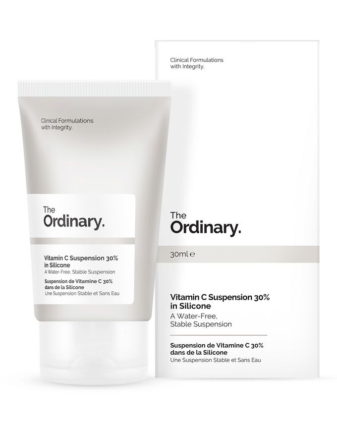 THE ORDINARY VITAMIN C SUSPENSION 30% IN SILICONE SERUM Z WITAMINĄ C