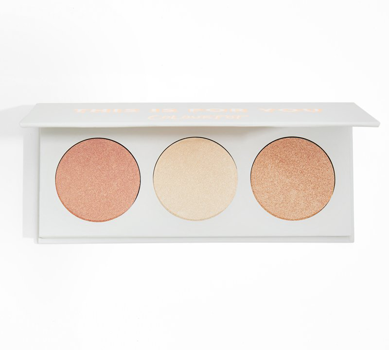 COLOURPOP THIS IS FOR YOU HIGHLIGHTER PALETTE PALETA ROZŚWIETLACZY