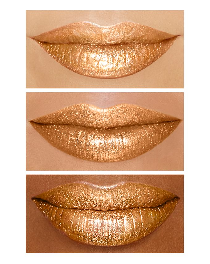 Too Faced Melted Gold Liquified Lip Gloss BŁyszczyk Do Ust