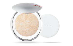PUPA MILANO LUMINYS SILKY BACKED FACE POWDER WYPIEKANY PUDER DO TWARZY