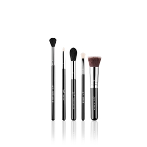SIGMA BEAUTY MOST WANTED BRUSH SET ZESTAW 5 PĘDZLI DO TWARZY I OCZU