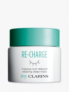 CLARINS MY CLARINS RE-CHARGE MASQUE NUIT RELAXANT SLEEP MASK MASKA NA NOC