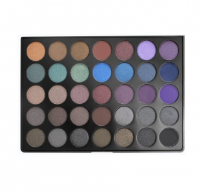 MORPHE 35D 35 COLOR DARK SMOKY PALETTE PALETA 35 CIENI DO MAKIJAŻU SMOKY