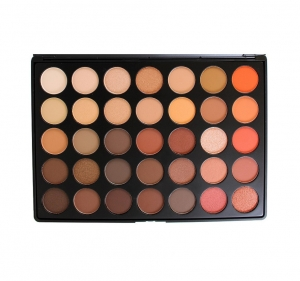 MORPHE  35O - 35 COLOR NATURE GLOW EYESHADOW PALETTE PALETA 35 CIENI DO POWIEK