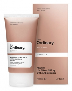 THE ORDINARY MINERAL UV FILTERS SPF 15 WITH ANTIOXIDANTS KREM PRZECIWSŁONECZNY SPF 15
