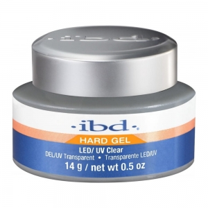 IBD ŻEL DO PAZNOKCI LED/UV GEL CLEAR