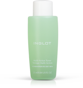 INGLOT MULTI TONER COMBINATION TO OILY SKIN 25ML TONIK DO CERY MIESZANEJ I TŁUSTEJ 25ML