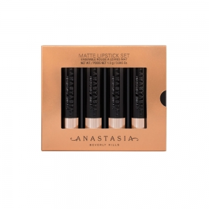 ANASTASIA BEVERLY HILLS MINI LIPSTICK SET 4 (GOLD)