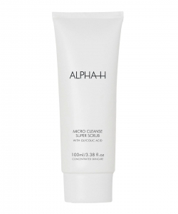 ALPHA-H CLEANSE SUPER SCRUB WITH GLYCOLIC ACID & PEPPERMINT PEELING DROBNOZIARNISTY Z KWASEM GLIKOLOWYM