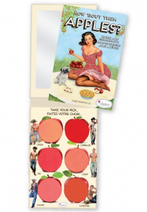 theBALM HOW 'BOUT THEM APPLES CHEEK&LIP BLUSH PALETA RÓŻY DO POLICZKÓW I UST