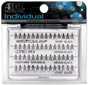 ARDELL LASHES INDIVIDUALS COMBO PACK SZTUCZNE  KĘPKI RZĘS SHORT MEDIUM LONG