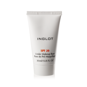 INGLOT UNDER MAKEUP BASE SPF 20 30ML BAZA POD MAKIJAŻ SPF 20