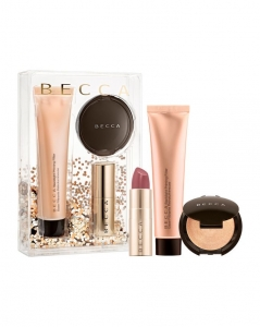 BECCA YOUR GLOW-TO GLOW PRIMER,HIGHLIGHTER & LIP KIT ZESTAW DO MAKIJAŻU