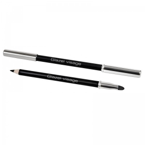 GLAZEL VISAGE BLACK EYE PENCIL CZARNA KREDKA DO OCZU