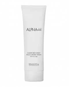 ALPHA-H CLEAR SKIN DAILY FACE& BODY WASH ANTYBAKTERYJNY ŻEL DO TWARZY 185ml