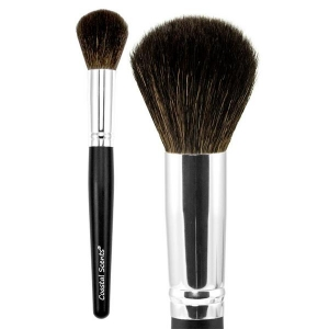 COASTAL SCENTS CLASSIC LARGE POWDER NATURAL BRUSH PĘDZEL DO PUDRU