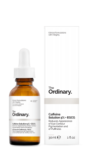 THE ORDINARY CAFFEINE SOLUTION 5% + EGCG SERUM POD OCZY Z 5% STĘŻENIEM KOFEINY ORAZ EGCG