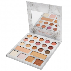 BH COSMETICS CARLI BYBEL DELUXE EDITION- 21 COLOR EYESHADOW & HIGHLIGHTER PALETTE EDYCJA LIMITOWANA