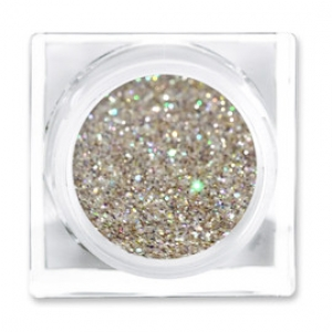 LIT COSMETICS COLOURS EYESHADOW GLITTER JAR CHAMPAGNE WISHES