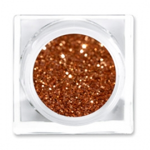 LIT COSMETICS COLOURS EYESHADOW GLITTER JAR CARROT HEAD