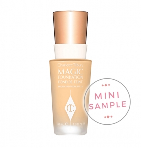 CHARLOTTE TILBURY MAGIC FOUNDATION MINI SAMPLE PODKŁAD DO TWARZY PRÓBKA 2ml