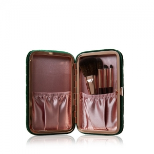 CHARLOTTE TILBURY CHARLOTTE'S HOLLYWOOD MINI BRUSH SET4 PIECE BRUSH SET ZESTAW PĘDZLI