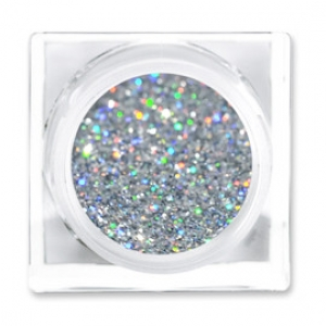 LIT COSMETICS COLOURS EYESHADOW GLITTER JAR HOLOGRAPHIC CHER