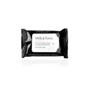 INGLOT COSMETICS MILK TONIC MAKEUP REMOVER WIPES TRAVEL SIZE MAŁE CHUSTECZKI DO DEMAKIJAŻU