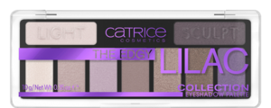 CATRICE THE EDGY LILAC COLLECTION EYESHADOW PALETTE PALETA CIENI