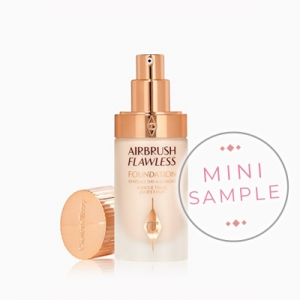CHARLOTTE TILBURY AIRBRUSH FLAWLESS FOUNDATION PODKŁAD DO TWARZY MINI SAMPLE PRÓBKA