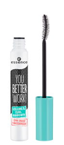 ESSENCE YOU BETTER WORK! VOLUME&CURL MASCARA TUSZ DO RZĘS